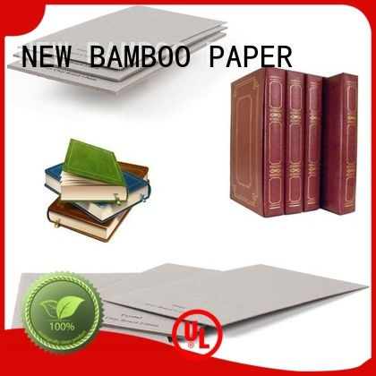 NEW BAMBOO PAPER professional grey board sheets free design for shirt accessories