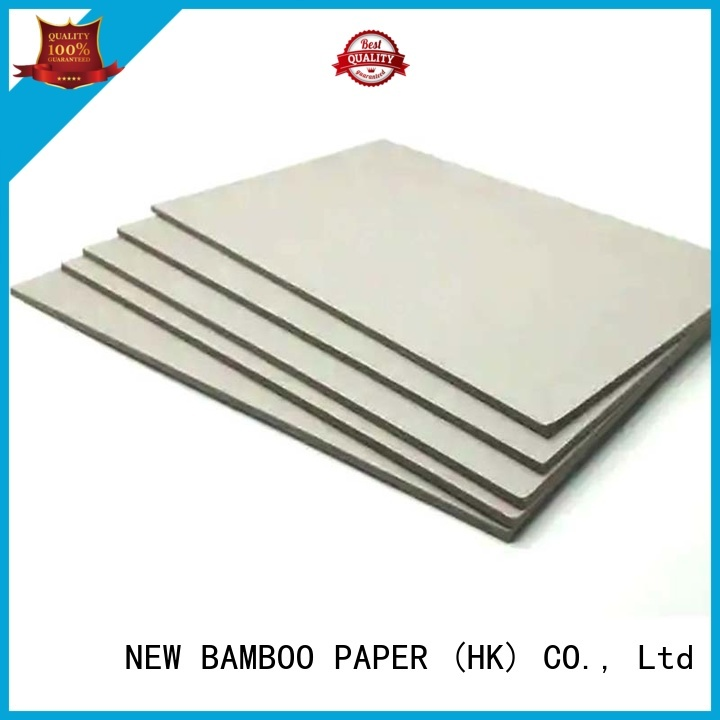 NEW BAMBOO PAPER useful grey chipboard for wholesale for T-shirt inserts