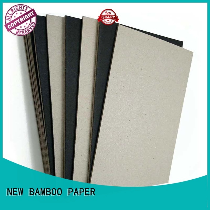 NEW BAMBOO PAPER useful black cardboard paper bulk production for shopping bag