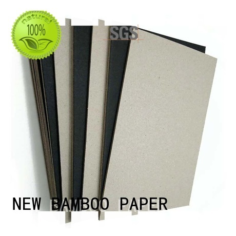 NEW BAMBOO PAPER size black cardboard sheets free design for hang tag