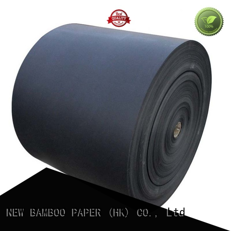 NEW BAMBOO PAPER industry-leading black cardboard paper supplier for photo frame