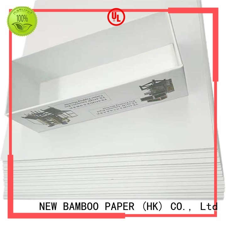 NEW BAMBOO PAPER excellent duplex board gray back long-term-use for cereal boxes