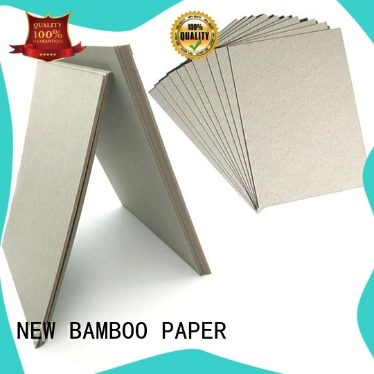 laminated grey board cover for desk calendars NEW BAMBOO PAPER