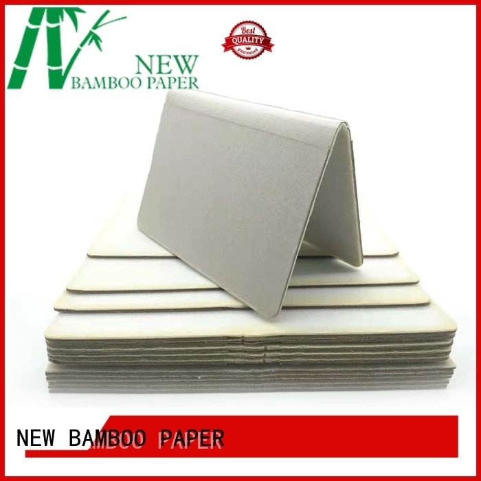 NEW BAMBOO PAPER gray foam board at discount for book covers