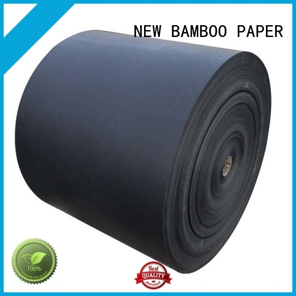 NEW BAMBOO PAPER new-arrival black chipboard vendor for gift box