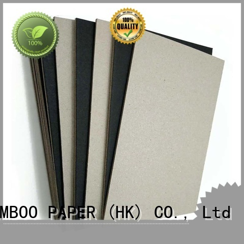 newly black cardboard sheets side bulk production for shopping bag