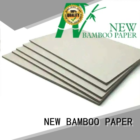 high-quality grey paper board quality bulk production for stationery