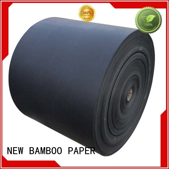 NEW BAMBOO PAPER fantastic  black backing board shopping for shopping bag