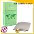 NEW BAMBOO PAPER boxes grey paper board factory price for packaging