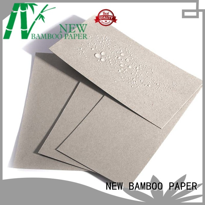 NEW BAMBOO PAPER single one side pe coated paper price bulk production for trash cans