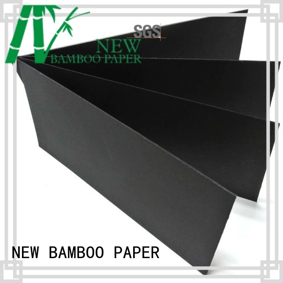 NEW BAMBOO PAPER fantastic black paper board wholesale for photo albums