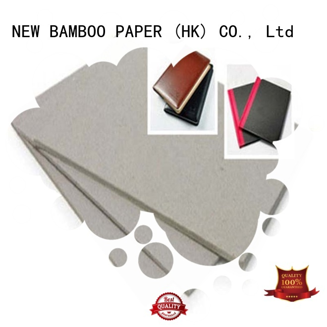 NEW BAMBOO PAPER desk grey board thickness for stationery