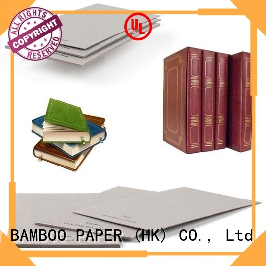 NEW BAMBOO PAPER fine- quality grey chipboard factory price for shirt accessories