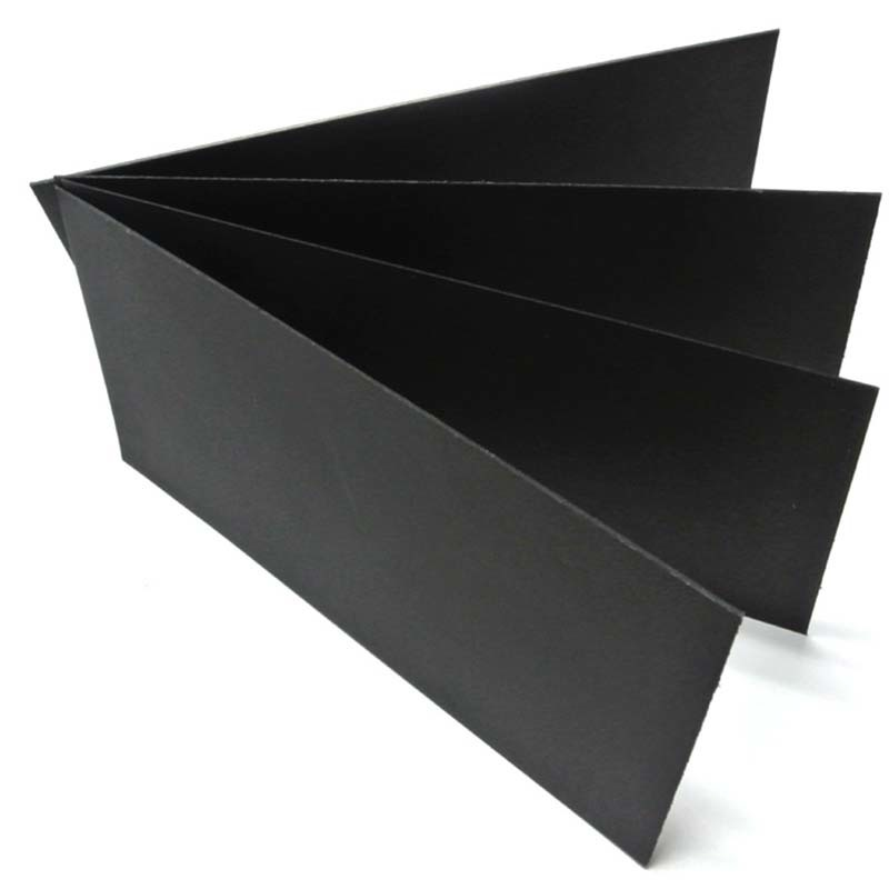 Environment friendly Black Paper Board/Black Chip Board/Black cardboard