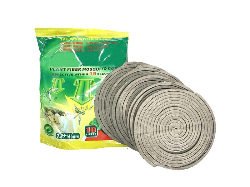 Economical material for mosquito coil, eco-friendly material