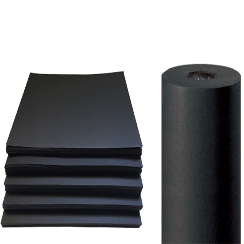 newly thick black cardboard free design for shopping bag NEW BAMBOO PAPER