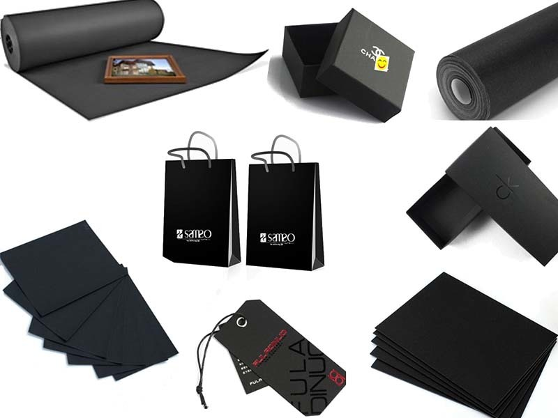 scientific black paper sheet bag certifications for photo frame