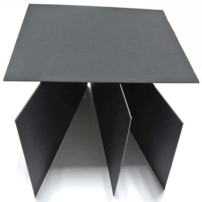 High quality waste paper and recycled pulp 5mm black cardboard paper