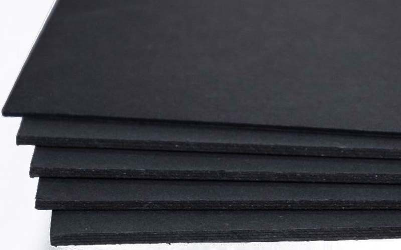 commercial Solid black board packaging for wholesale for silk printing