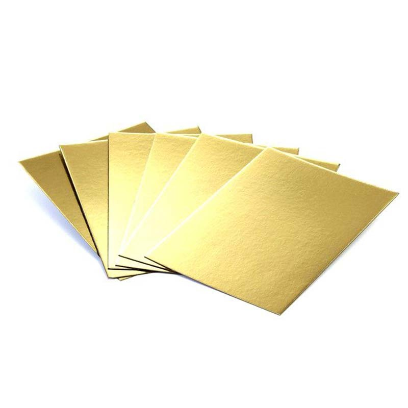 Gold Laminated Grey Board / Paper Board / Hard Board Paper Recycled In Sheets