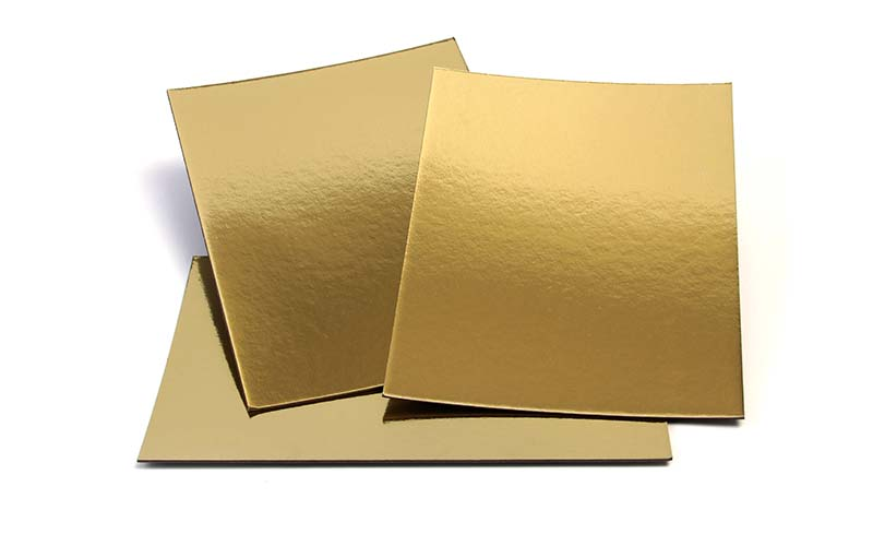 NEW BAMBOO PAPER recycled metallic gold poster board long-term-use for dessert packaging-2