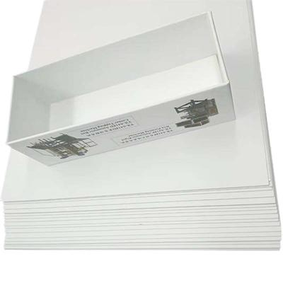 Two Side Coated 450gsm White Back Duplex Board Paper for package boxes