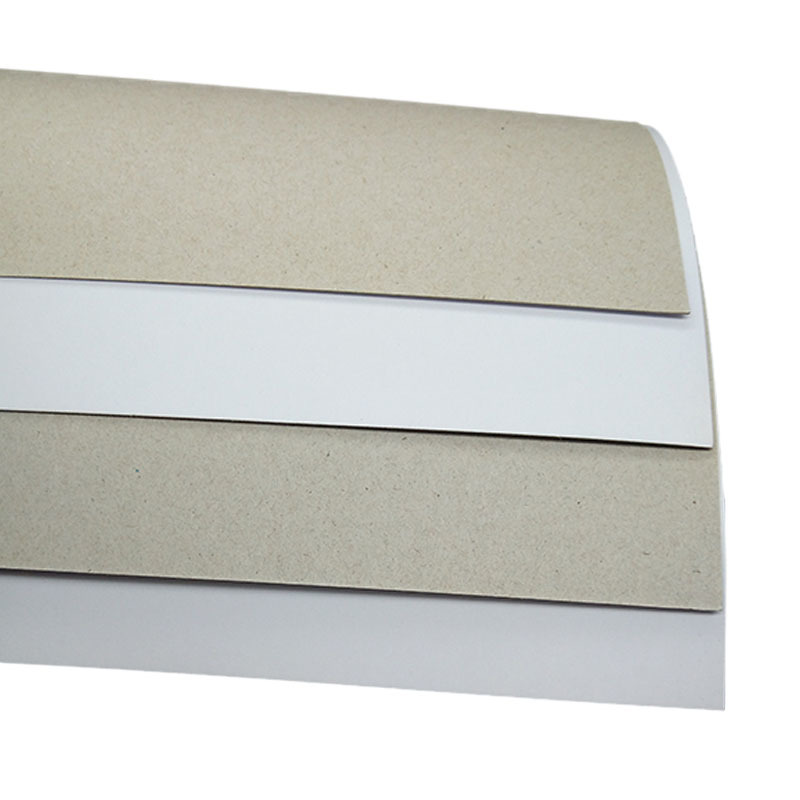 Mixed Pulp 300gsm Coated Duplex Board Grey Back for Packaging / Printing