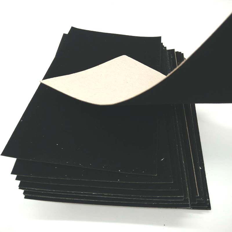 NEW BAMBOO PAPER usage black flocking paper wholesale for decoration-3