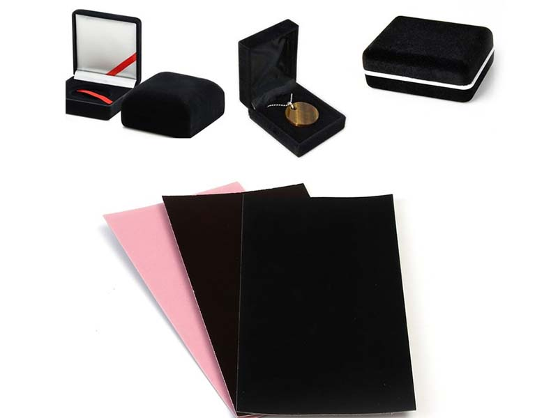 NEW BAMBOO PAPER useful velvet flocked paper supplier for gift box binding-7