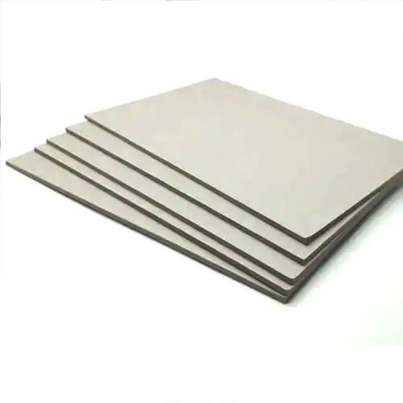 2 mm 1250gsm Thick Paper Grey Cardboard Sheets Professional Grade - A