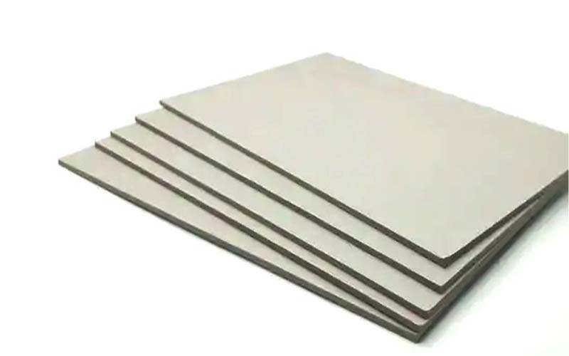 NEW BAMBOO PAPER desk grey chipboard sheets from manufacturer for shirt accessories-3