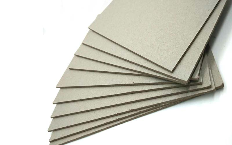 NEW BAMBOO PAPER desk grey chipboard sheets from manufacturer for shirt accessories-2