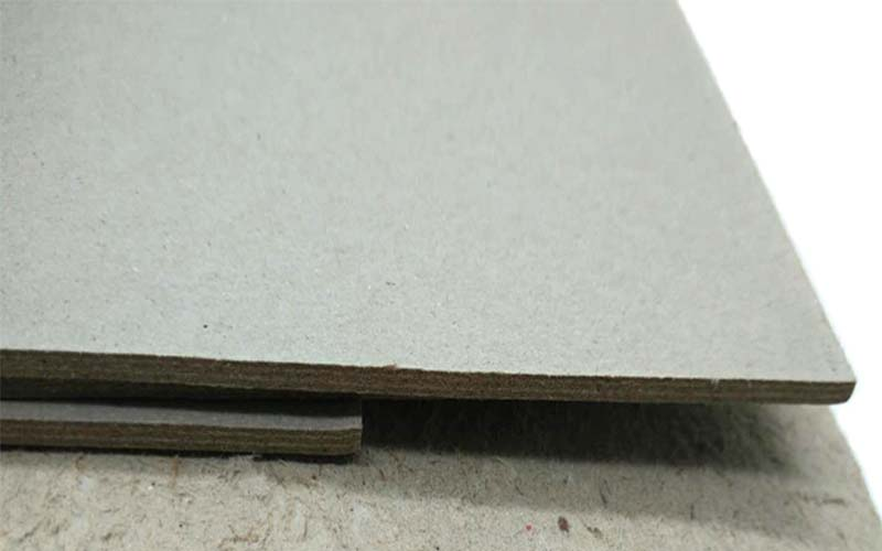 NEW BAMBOO PAPER desk grey chipboard sheets from manufacturer for shirt accessories-1