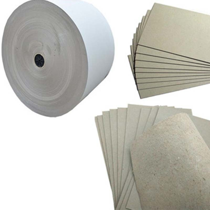 Rolls and Sheets Uncoated Grey Board Paper Chipboard for Arch file