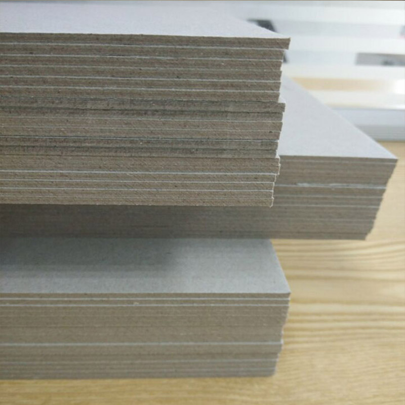 NEW BAMBOO PAPER mosquito grey chipboard for boxes-3
