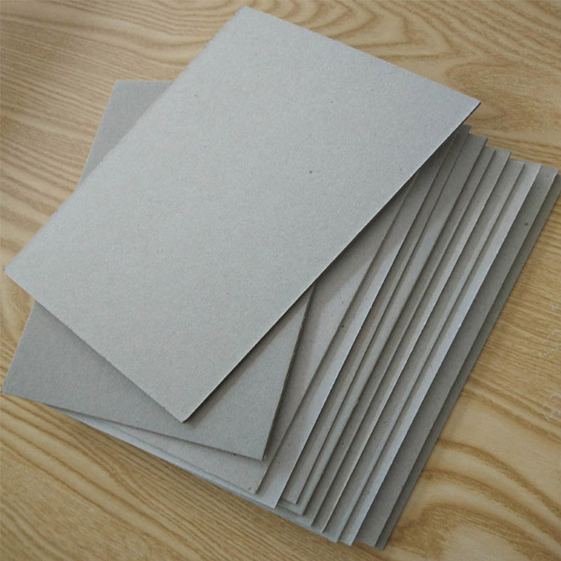 NEW BAMBOO PAPER mosquito grey chipboard for boxes-2