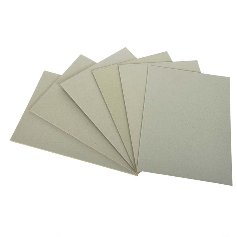 NEW BAMBOO PAPER degradable grey board thickness factory price for folder covers-2