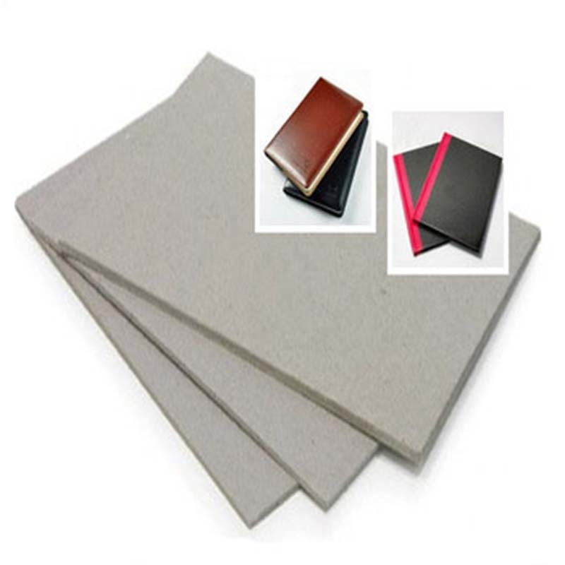 grey chipboard sheets uncoated for hardcover books NEW BAMBOO PAPER