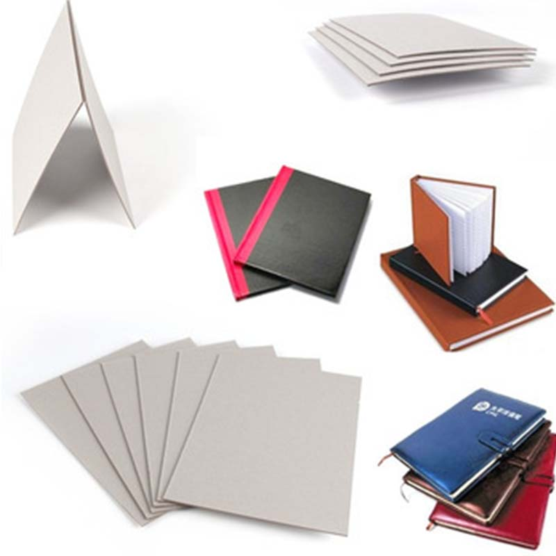 NEW BAMBOO PAPER degradable grey board thickness factory price for folder covers-3