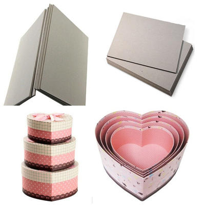 Folding Resistance Grade AA Laminated Gray Board for making Luxury Gift boxes