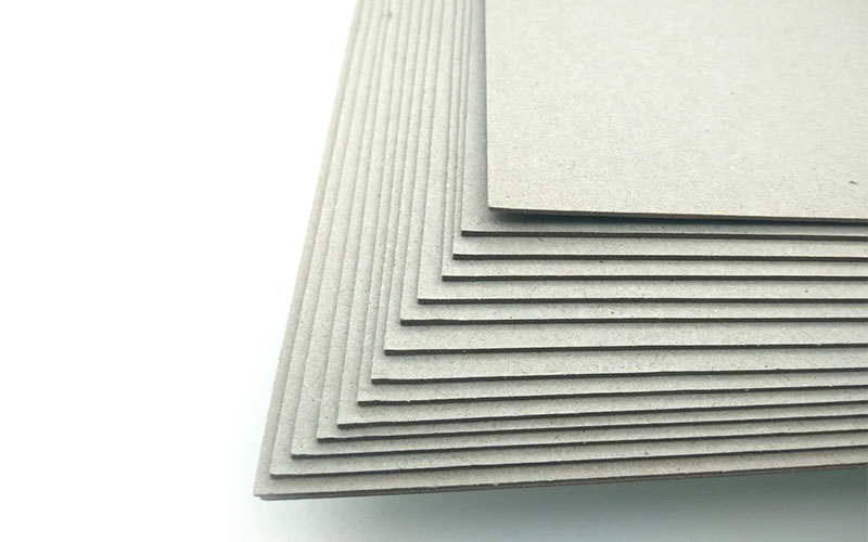 solid 2mm grey board solid for book covers-1