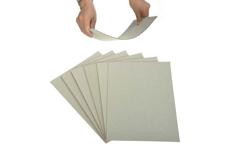 NEW BAMBOO PAPER layer cardboard paper sheets bulk production for shirt accessories-2