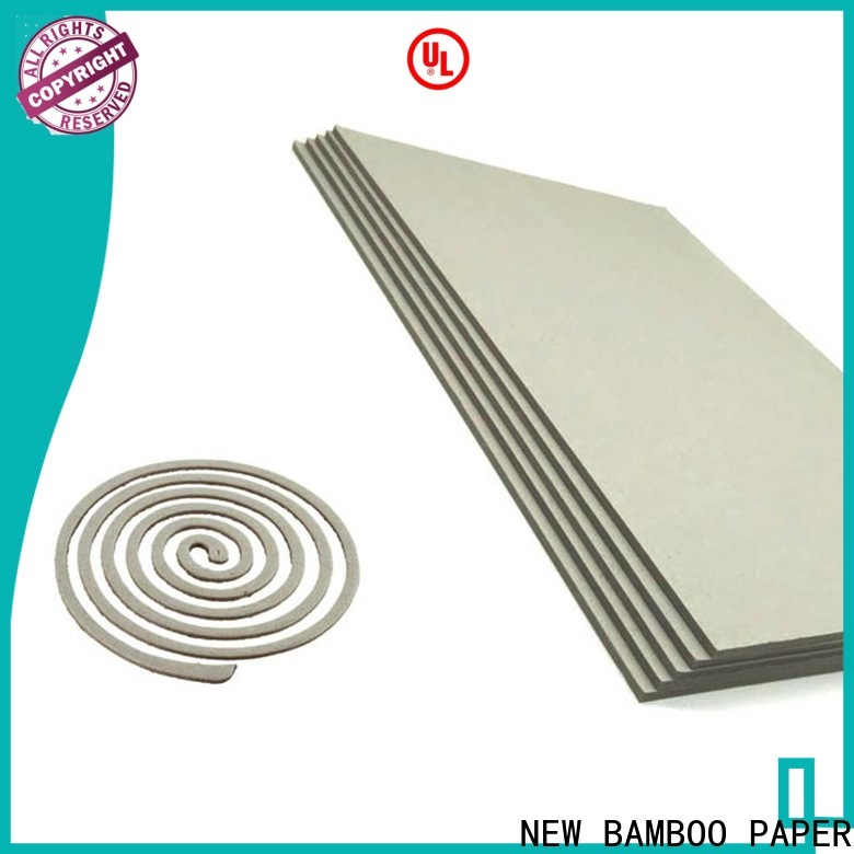 best laminated grey board book from manufacturer for T-shirt inserts