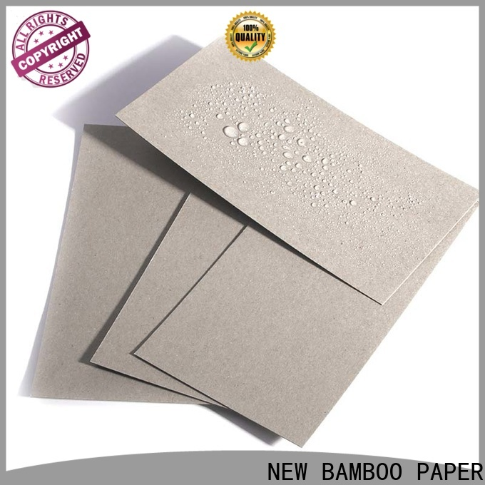 NEW BAMBOO PAPER proof pe coated paper sheet bulk production for packaging