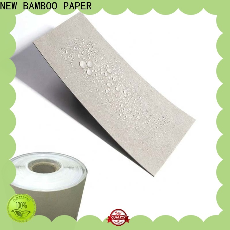 NEW BAMBOO PAPER board pe coated paper sheet free quote for trash cans