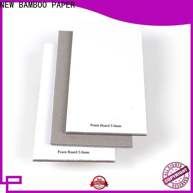 NEW BAMBOO PAPER gray craft foam board free design for stationery