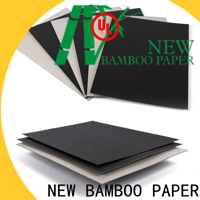 NEW BAMBOO PAPER excellent Painted black board supplier for box materials