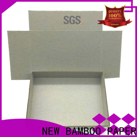 NEW BAMBOO PAPER nice grey chipboard for wholesale for folder covers