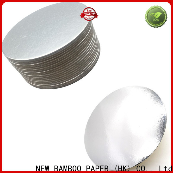 NEW BAMBOO PAPER bakery metallic paper sheets bulk production for cake board
