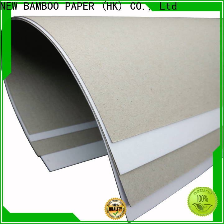 NEW BAMBOO PAPER duplex board free quote for printing industry